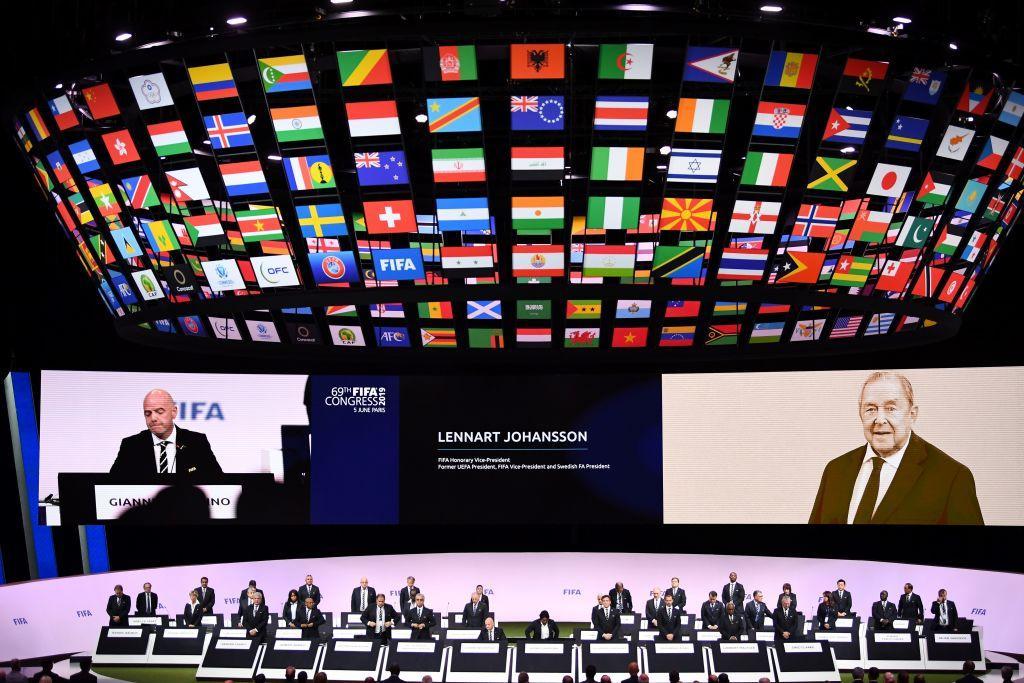 La Fifa saluta Lennart Johansson