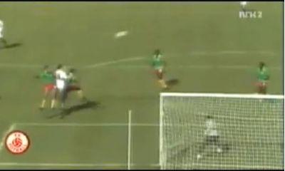Graziani in gol col Camerun