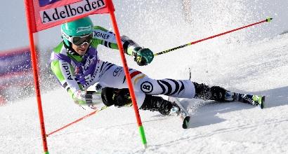 Sci, Gigante Adelboden: vince Neureuther, Moelgg sesto