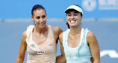 Wta Wuhan: Pennetta-Hingis, ancora in finale nel doppio