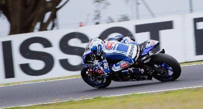Superbike, super Yamaha a Phillip Island: comanda Guintoli