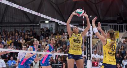 Volley donne, finale scudetto: Piacenza trascina Conegliano a gara-4