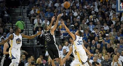 Nba: Cleveland, anello e vittoria! Lezione Spurs a Golden State