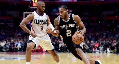 Nba: Golden State vince in rimonta, crisi Lakers. Perdono gli Spurs