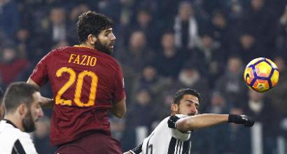 """Roma, Fazio:""""L'obiettivo è sempre lo scudetto"""""""