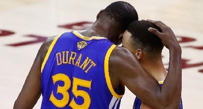 Nba Finals: Warriors a un passo dalla storia, ai Cavs serve un miracolo