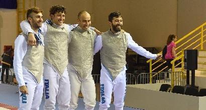 Scherma, Europei: è bronzo per l'Italia nel fioretto maschile a squadre