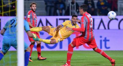 Serie B: Frosinone in vetta, 0-0 con la Cremonese