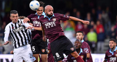 Serie B: il Cesena batte 1-0 lo Spezia, senza gol Salernitana-Ascoli