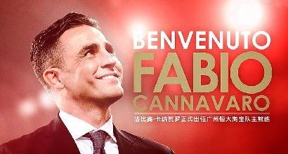 Cannavaro torna al Guangzhou Evergrande