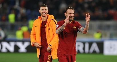 La Roma sogna con Dzeko e la difesa
