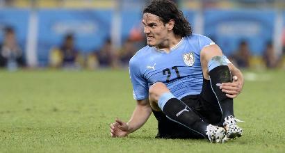 Mondiali 2018: Uruguay, ansia per Cavani: domani gli esami