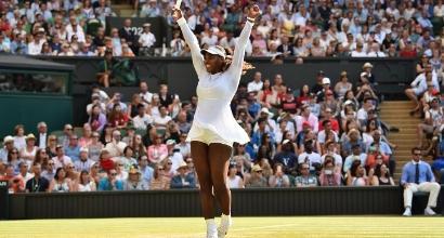 Wimbledon: Federer perfetto, anche Serena Williams agli ottavi