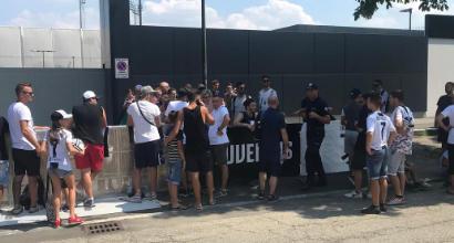 Juventus al lavoro alla Continassa: Cristiano Ronaldo in gruppo, torna Mandzukic