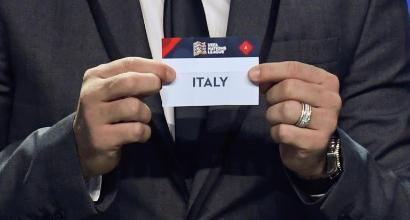 Nations League: il calendario dell'Italia