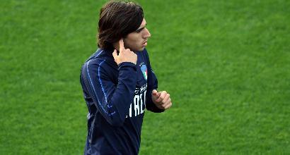 Italia, contro gli Usa esordio per Tonali