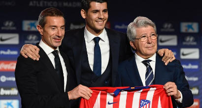 """Atletico Madrid, Morata sfida il suo passato: """"Con la Juve sarà durissima"""""""