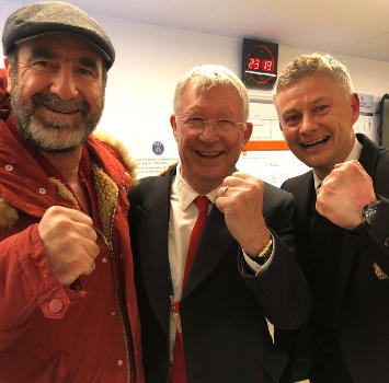 Cantona-Ferguson-Solskjaer: la storia dello United in festa a Parigi