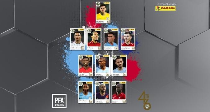 Premier, dominio di City e Liverpool nella squadra dell'anno