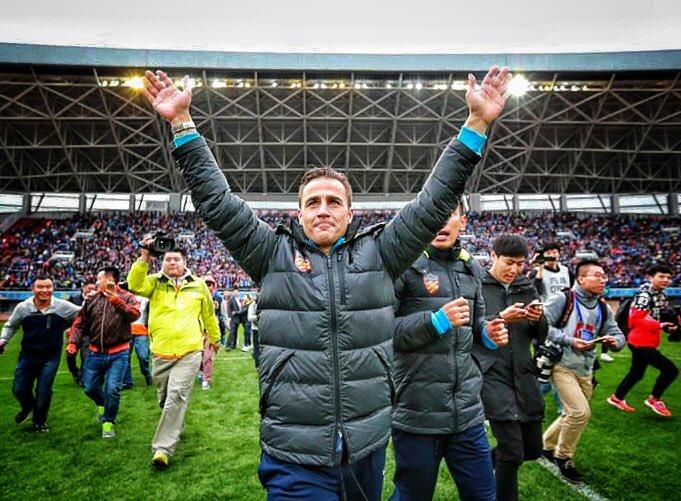 Cannavaro conquista la Chinese Super League