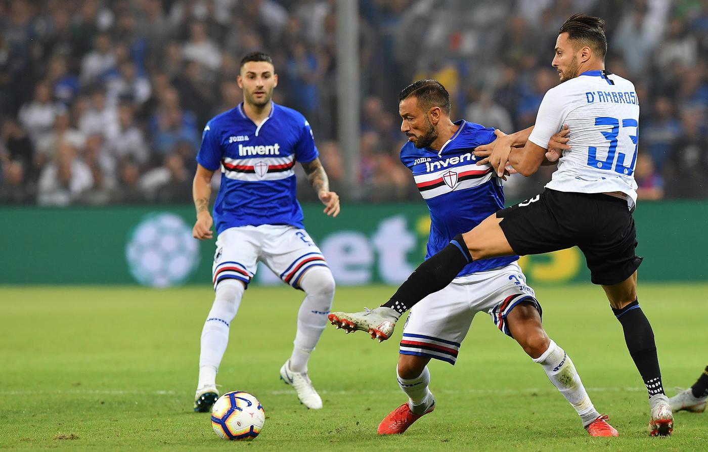 Un gol di Brozovic al 94' regala all'Inter tre punti pesanti sul campo della Sampdoria. A Marassi finisce 1-0 per i nerazzurri, che tornano al successo in campionato grazie a un destro del croato durante il recupero. Il Var, prima del gol-partita, aveva annullato due reti alla squadra di Spalletti (Nainggolan e Asamoah). L'Inter sale così a sette punti, agganciando proprio i blucerchiati.