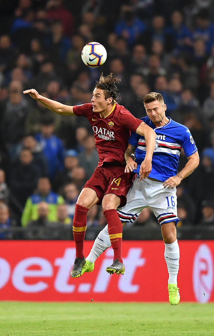 Sampdoria-Roma in foto