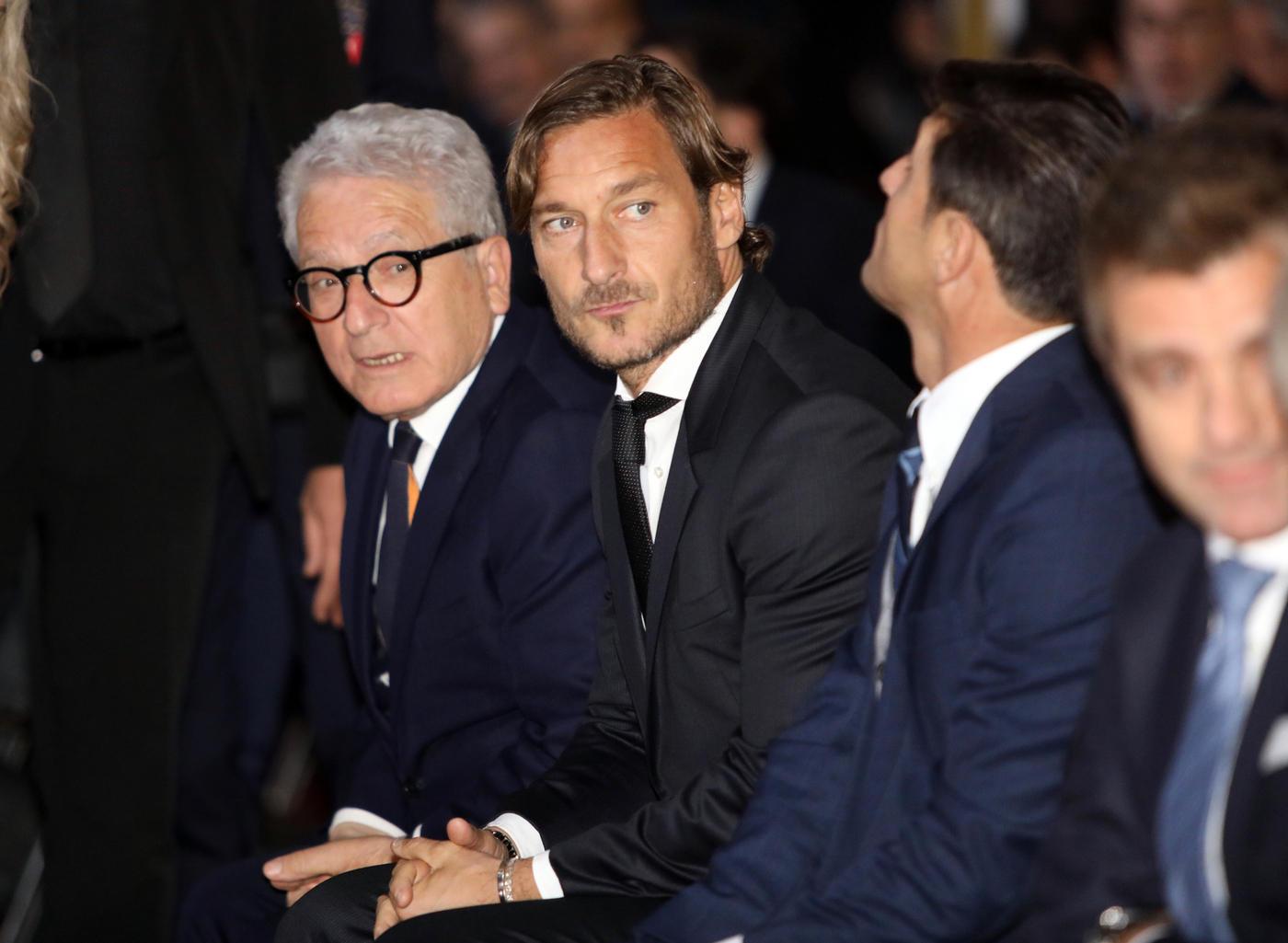 A Firenze premiati anche Totti e Zanetti