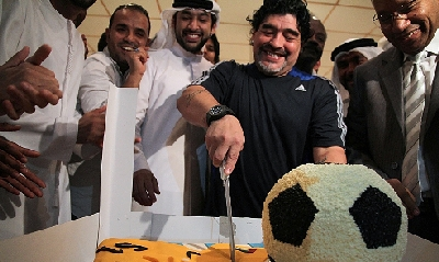 Maradona, Afp