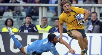 Rugby: Australia show, lezione all'Italia di Brunel