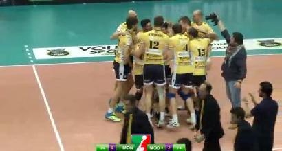 Volley, SuperLega: Modena c'è, Trento cade a Molfetta