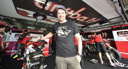 Superbike, Checa torna in pista per i test Ducati