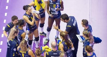 Volley, A1 femminile: Conegliano strapazza Bergamo