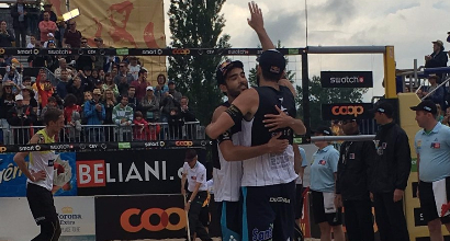 Beach volley, Europeo: Nicolai e Lupo sono campioni