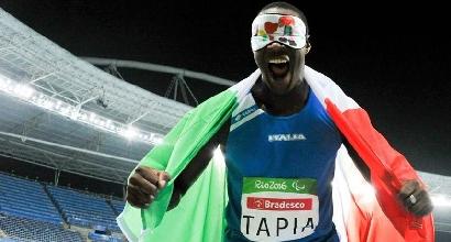 Paralimpiadi 2016, atletica: super Tapia, è argento nel disco