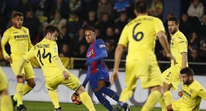 Messi infrange il sogno di Sansone e salva il Barcellona a Villareal
