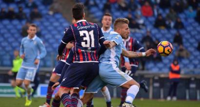 La Lazio ricomincia con la vittoria. Contro il Crotone Immobile torna decisivo