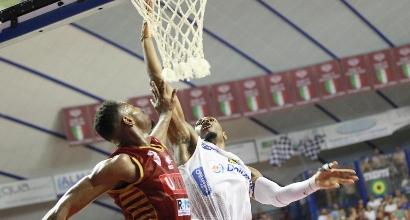 Basket, Serie A Playoff: Trento risponde a Venezia, serie sul 2-2