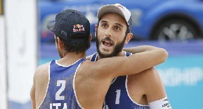 Beach Volley: Lupo e Nicolai campioni d'Europa