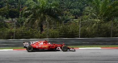 F1, libere 3 Malesia: Ferrari davanti con Raikkonen e Vettel