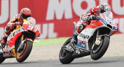 Marquez-Dovizioso, la sfida continua a Motegi