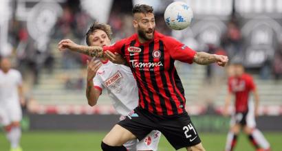 Serie B: Bari-Foggia 1-0, Galano decide al 92'. E' 1-1 tra Ternana e Perugia