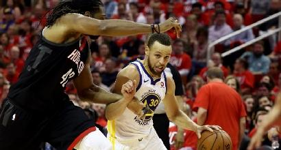 Nba, Warriors battono i Rockets