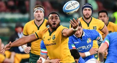 Rugby: Italia generosa ma imprecisa, l'Australia vince 26-7