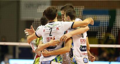Volley: Civitanova e Perugia ko, bene Trento