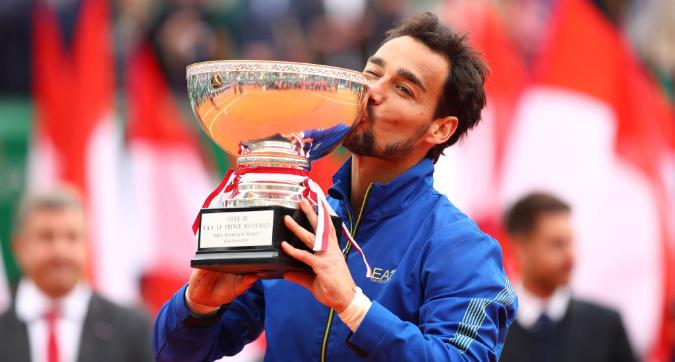 Tennis, Montecarlo ai piedi di Fognini: l'azzurro trionfa per 6-3, 6-4 su Lajovic