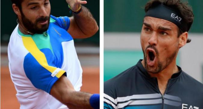Roland Garros: ok Fognini e Caruso
