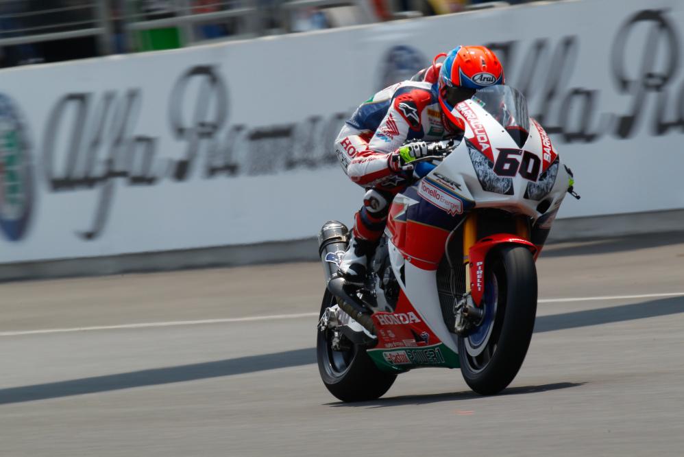 Superbike, Van der Mark sfreccia