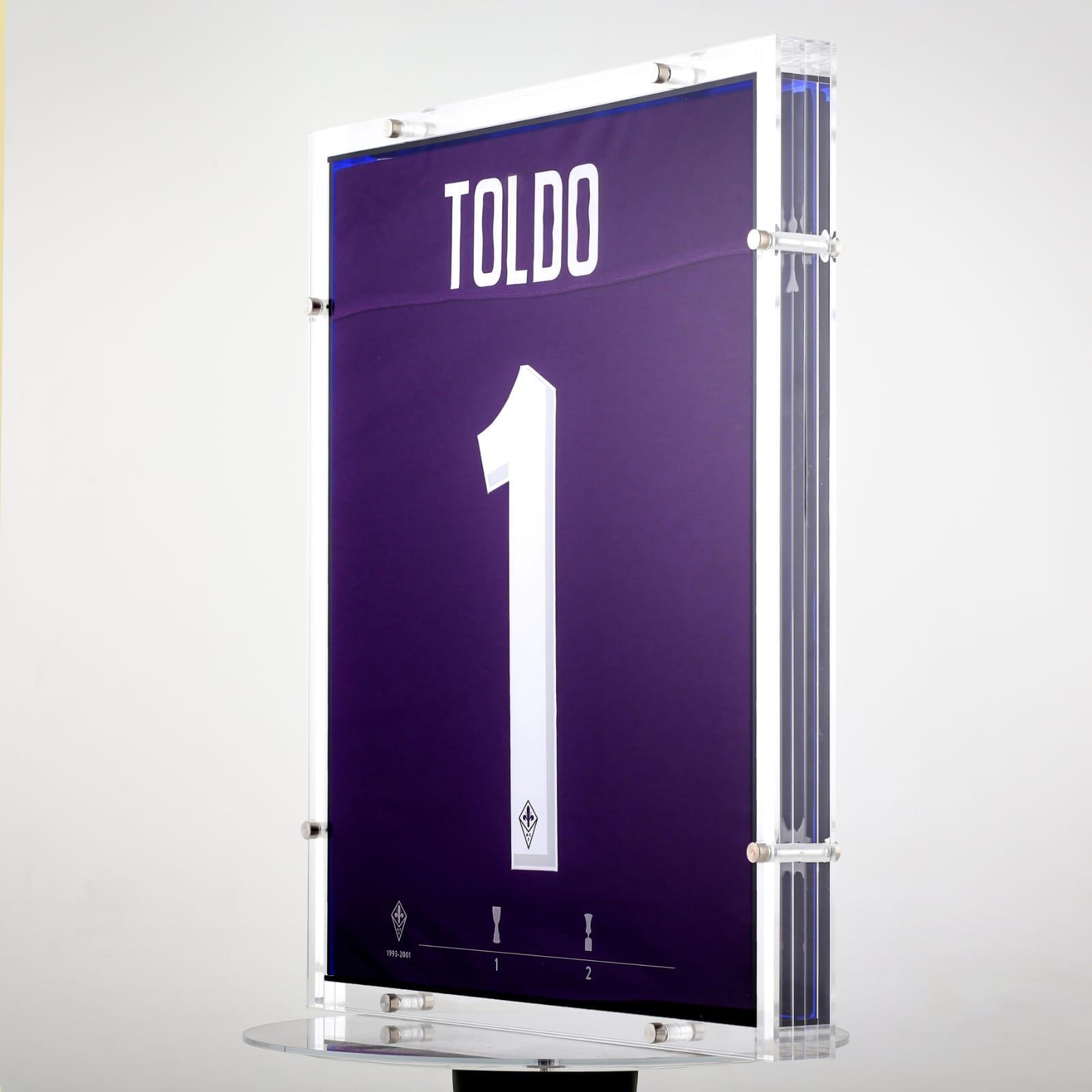 Inter-Fiorentina: Toldo, due maglie per un numero 1