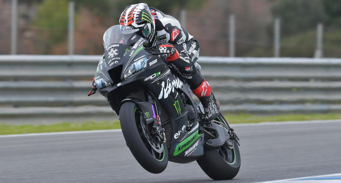 Superbike, Rea svetta subito nei test di Jerez