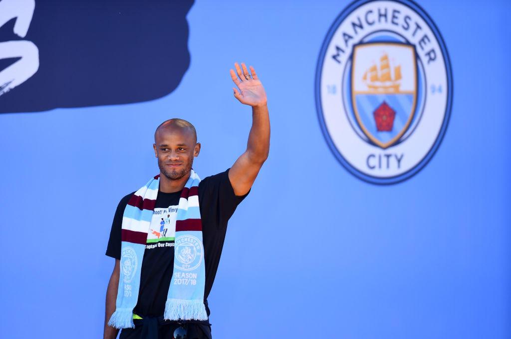 Vincent Kompany ha lasciato da capitano il Manchester City: sarà allenatore-giocatore dell'Anderlecht